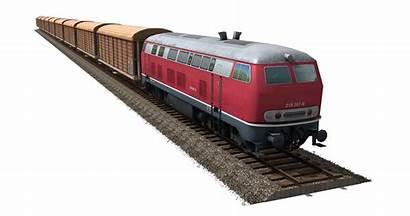 Train Clipart Freight Modern Rail Transparent Track
