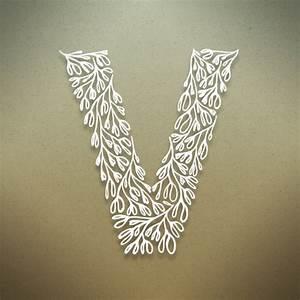 Alphabet Letter V Hd Wallpaper