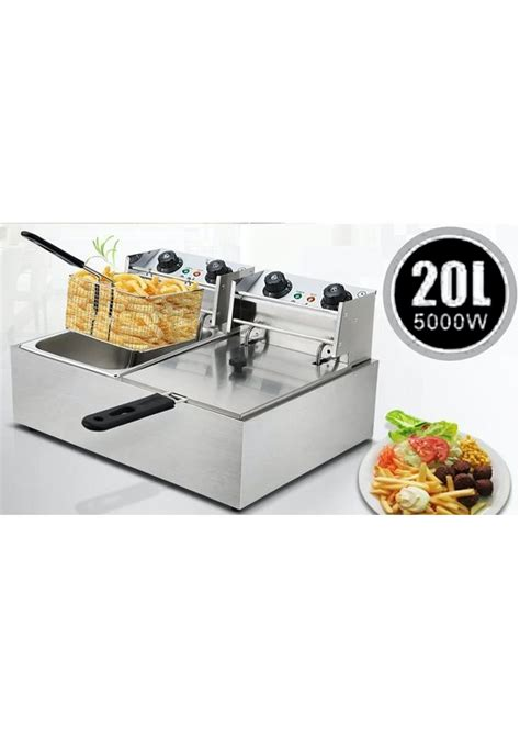 onceit fryer twin basket deep