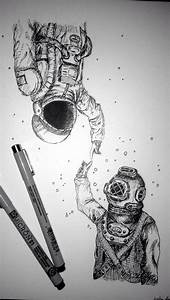25+ best ideas about Astronaut drawing on Pinterest