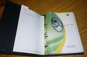 2003 Vw Beetle Owners Manual Set Guide 03 Bug W  Case