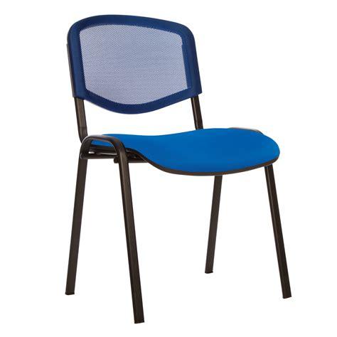 chaise bleue chaises de conférence iso black vendu par 2 chaise
