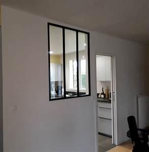 Pose Verriere Sur Placo : r novation d 39 une cuisine et installation d 39 une verri re ~ Melissatoandfro.com Idées de Décoration