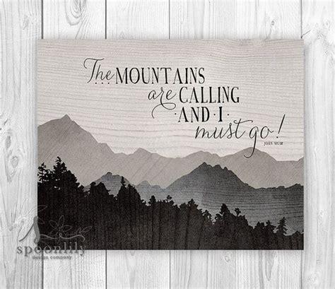 mountains  calling     john muir