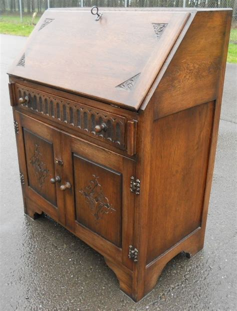 oak writing bureau furniture sold oak writing bureau desk workstation