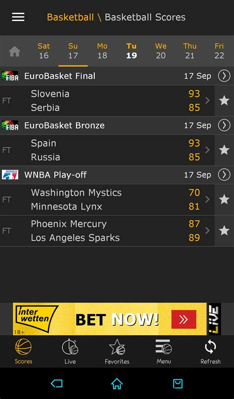 Latest football results and soccer livescore, head to head statistics, tables and fixtures. Download LiveScore 3.0.4 Android - APK Free