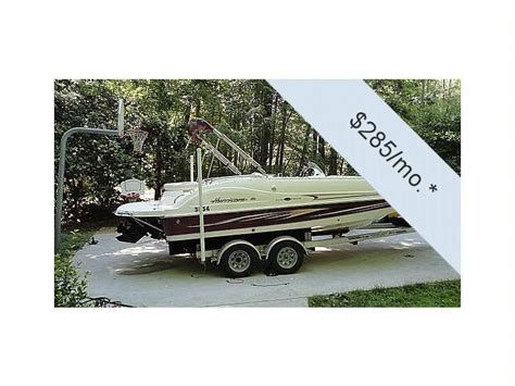 Hurricane Deck Boat Dimensions by Hurricane 202gs Deck In Florida Power Boats Used