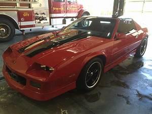 Red 1988 Chevrolet Camaro Manual Garage Kept  Sold