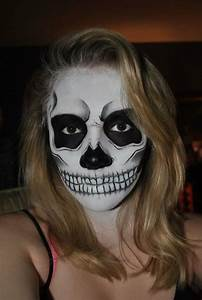 Maquillage Squelette Facile : 1001 id es pour votre maquillage de halloween squelette ~ Dode.kayakingforconservation.com Idées de Décoration