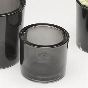 Vase Schwarz Glas : glastopf fum blumentopf bertopf vase glas topf grau schwarz 8 cm ebay ~ Indierocktalk.com Haus und Dekorationen