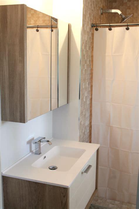 remodeled bathrooms  matching vanities porcelain tile
