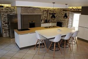 cuisine moderne design italienne With table cuisine contemporaine design