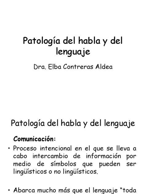 Trastornos Del Lenguaje | Adquisición lingüística | Palabra