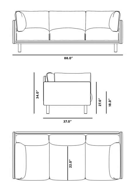 Anderson Sofa | Rove Concepts Rove Concepts Mid-Century