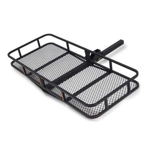 receiver hitch rack 60 quot x 25 quot folding cargo carrier luggage rack hauler truck