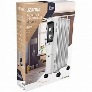 Radiateur A Bain D Huile : radiateur bain d 39 huile varma 2000 w blanc de radiateur ~ Dailycaller-alerts.com Idées de Décoration