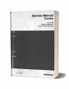 Volvo Service Manual Truck Wiring Diagram F10 F12 F16 Lhd