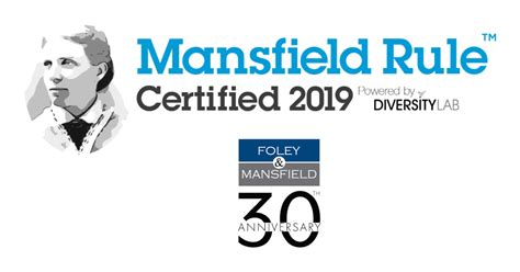 foley mansfield  pleased  announce