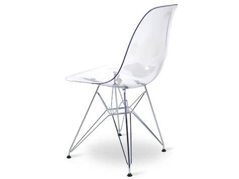 chaise eames transparente chaise eames transparente maison design sphena com