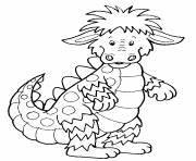 Coloriage Dragon Qui Crache Du Feu Dessin Gratuit à Imprimer