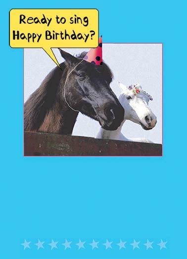 Geburtstagskarte Pferd Kostenlos