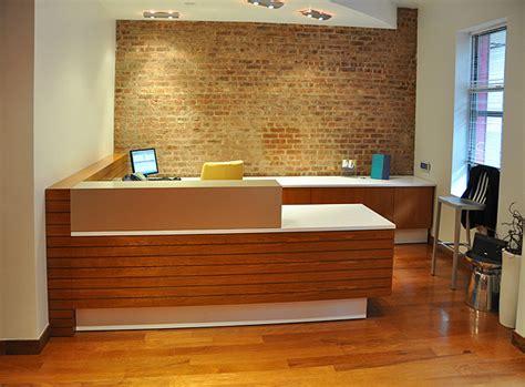arnold reception desks  custom anglo irish bank