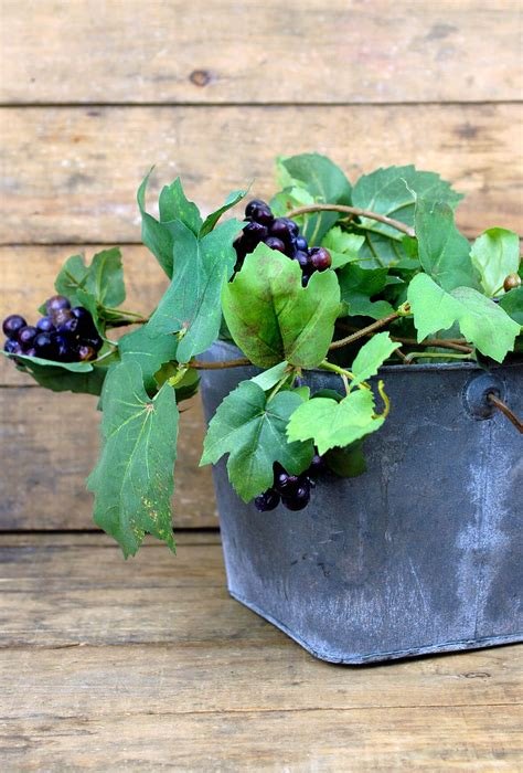 artificial grape garland  grapes