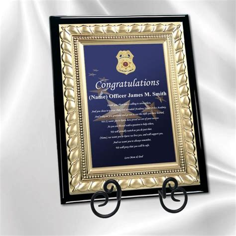 Police Academy Graduation Gifts And Sheriff Grad Present. Birthday Cake Template Printable. Quill Address Labels Template. Retirement Invitations Template Free. University Of Minnesota Graduate School