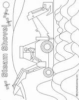 Shovel Coloring Steam Pages Enchantedlearning Mulligan Mike Five Burton sketch template