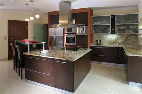 cuisine en granit comptoir de cuisine granite au sommet