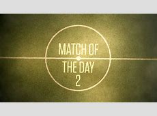 EPL BBC Match of the Day 2 MOTD2 EPL Football Match