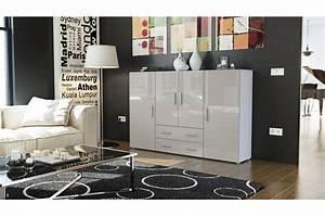 meuble bahut design 4 portes 2 tiroirs manhattan cbc With couleur tendance hall d entree 19 le meuble console d entree complate le style de votre