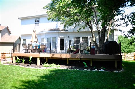 composite patio overland park ks deck builders kansas