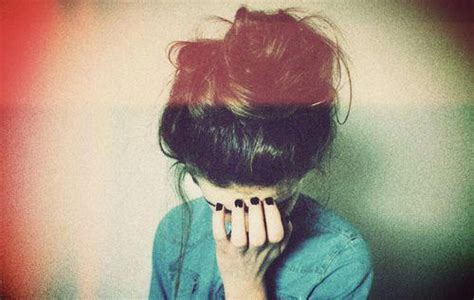 messy hair bun  tumblr