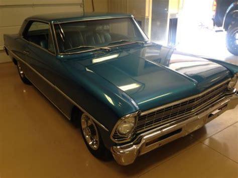 sell   chevy nova  auto blue  blue  grand