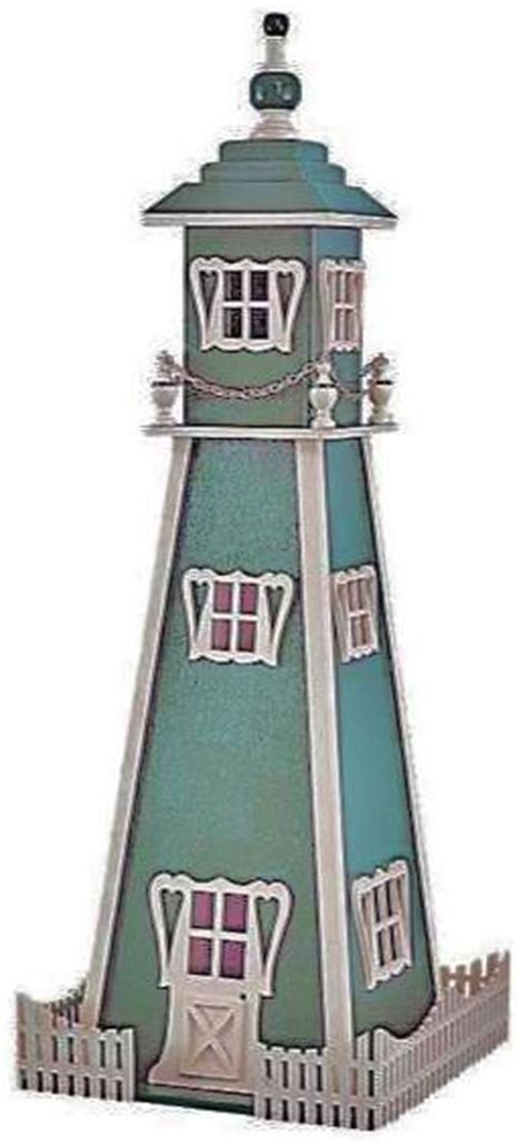 downloadable victorian lighthouse plan scrollsawcom
