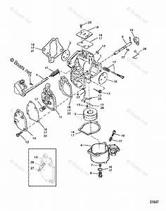 Mercury Mercury  U0026 Mariner Outboard Parts By Hp  U0026 Liter 25hp Oem Parts Diagram For Carburetor