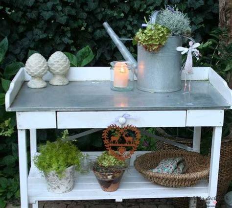 Pflanztischdeko  Tischlein Deck Dich