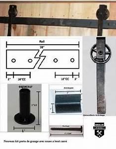 Roue Pour Porte Coulissante : quincaillerie de porte de grange quincaillerie de la forge achetez en ~ Teatrodelosmanantiales.com Idées de Décoration