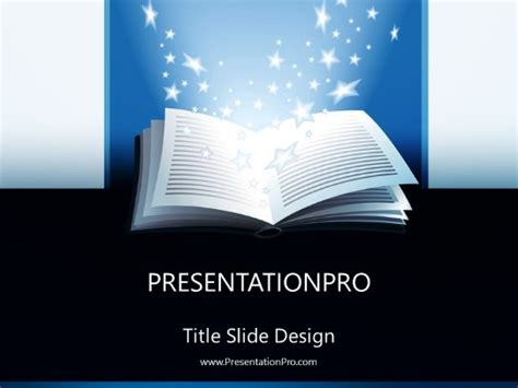 open book powerpoint template background  education