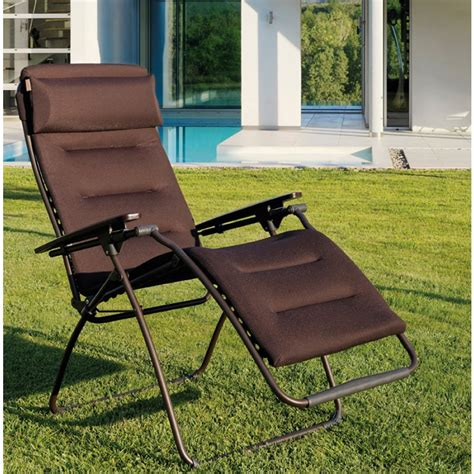 chaise relax lafuma lafuma fauteuil relax inspirations avec chaise relax