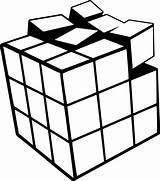 Cube Coloring Rubiks Printable sketch template