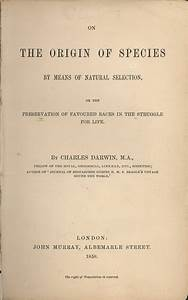 1859 – Charles Darwin publishes 'On the Origin of Species ...