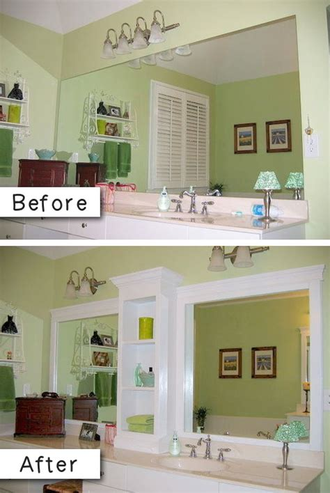 Easy Bathroom Ideas by 27 Easy Diy Remodeling Ideas On A Budget Before And