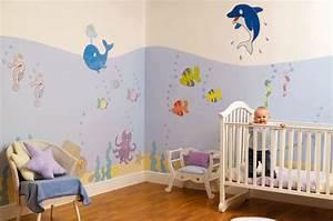 Autocollant Chambre Bébé : d co chambre bebe mer ~ Melissatoandfro.com Idées de Décoration