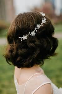 festival flower headbands 42 peinados de novia con pelo suelto largo corto o mediano