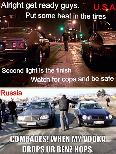 Street Racing Memes - street racing usa vs russia
