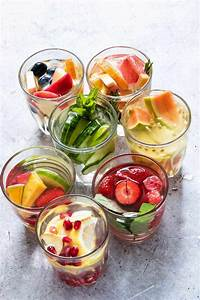 7 easy infused water recipes gluten free vegan low carb