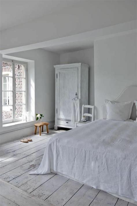 decoration chambre blanche le parquet blanc une tendance déco archzine fr