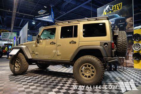 aev jeep wrangler unlimited 2015 sema aev jeep jk wrangler unlimited
